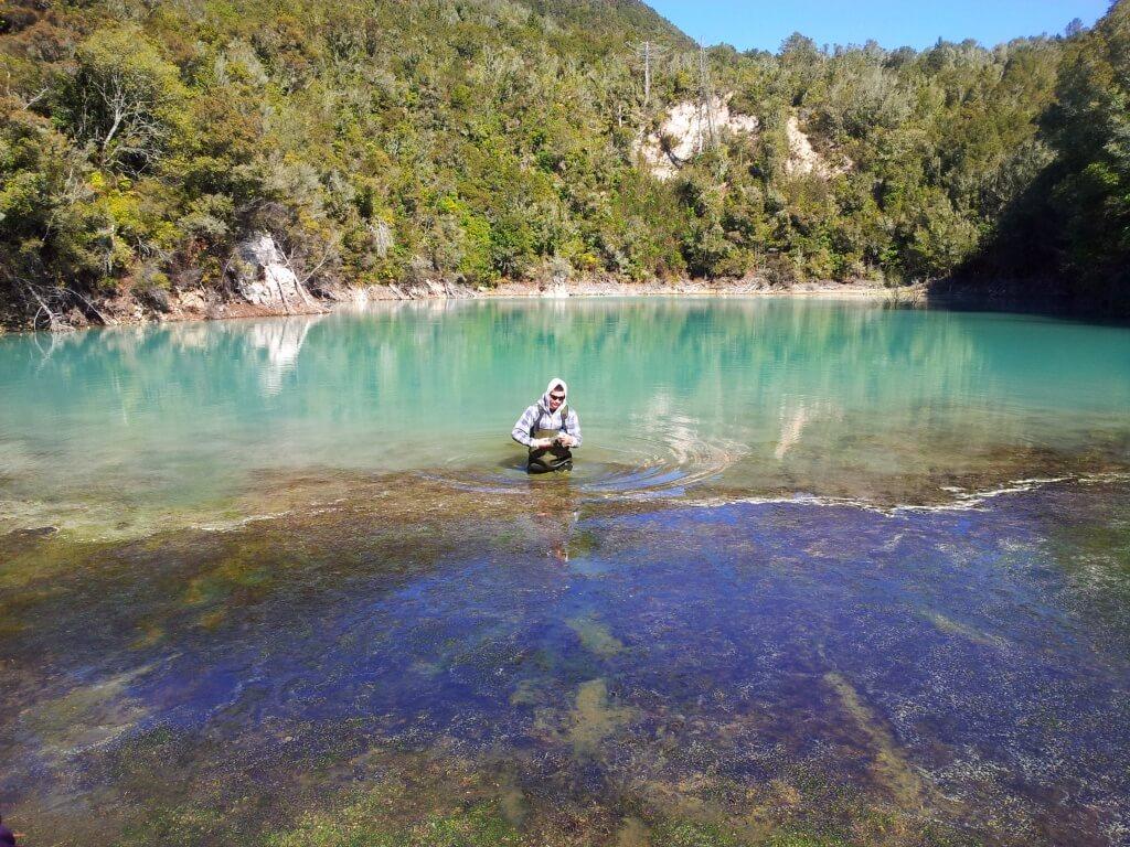 Opal Lake_Rotorua_NZ_by_ DHamilton